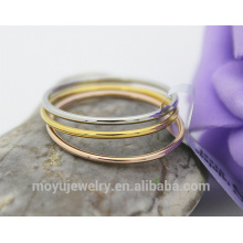 18K gold plated Simple Europe style Size from 4#-7# Knuckle rings