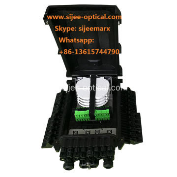 FTTH Drop Kabeltyp Fiber Optic Splice Splitter Verschluss