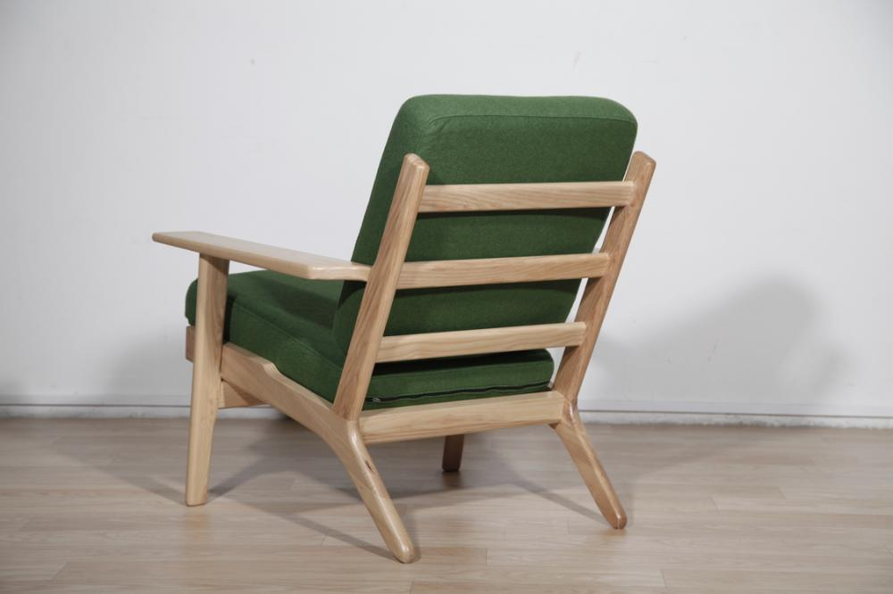 Solid Wood Hans Wegner Plank Chairs Copy