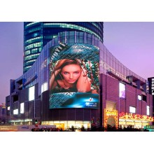 Low Power Consumption Outdoor gebogen LED-display
