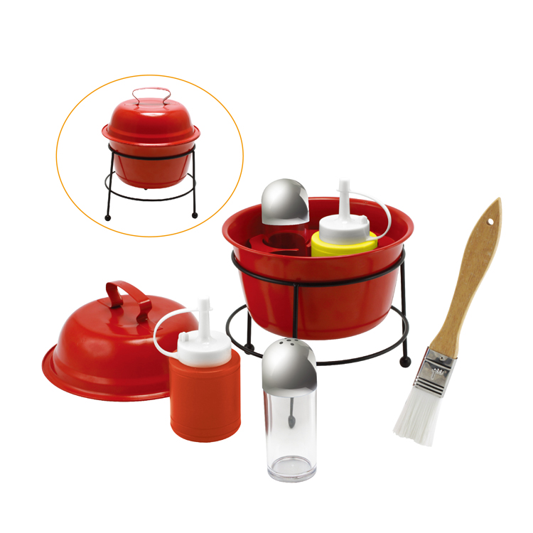 GRILL CONDIMENT SET