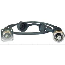 Pdlc Fiber Optic Jumper Kabel wasserdicht Jumper