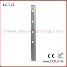 Luz quente da mostra do armário do diodo emissor de luz das vendas 4 * 1W para a jóia
