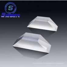 Saphir fondu UV de silice de Prism BK7 de prisme optique de haute qualité