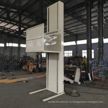 вертикальный электрический подъемник для одного человека Наслаждайтесь свободой своего дома с помощью инвалидной коляски через напольный подъемник.