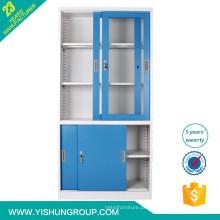 armário de metal com porta de correr para cima e abaixo
