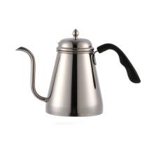 Potenciômetro de aço inoxidável do chá da chaleira do café do gotejamento do aço 1000ml