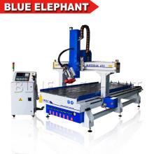 High-Speed-3D-CNC-Holz-Skulptur-Maschine, hohe Qualität AC Drehspindel CNC-Fräser für Holz und Metall