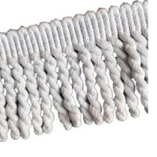 Garniture en dentelle de coton pour frange de serviette de plage ronde