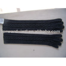 lady style cashmere or wool knitting gloves 7gg