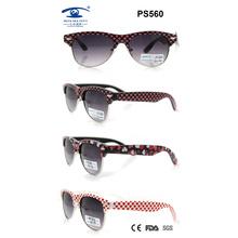 2015 promocional PC coloridas hermosas nuevas gafas de sol para los niños (PS560)