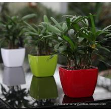 (BC-F1041) Fashionable Design Plastic Self-Watering Flower Pot