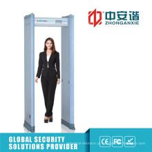 Detector de metais de porta de contagem de infravermelhos de alta sensibilidade de segurança do site de pesquisa