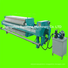 Plate and Frame Filter Press Machine Coconut Oil Filter Machine