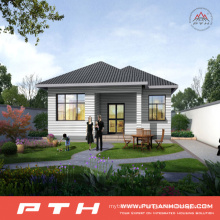 China Prefabricated Light Steel Villa House as Village Building