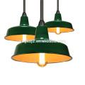Ename Lamps Shade para Warehouse & Outdoor, lámpara colgante de esmalte