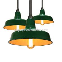 Эмаль кулон лампы Тени для склада & напольная, эмаль подвесной Светильник