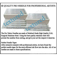 Bugpin Textured Tattoo needle 316L surgical steel High quality