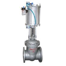 Válvula de porta pneumática titanium quente da venda POV de aço inoxidável