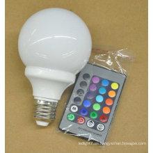 Bulbo del RGB LED de la tabla China 3W e27 los 62 * 110MM