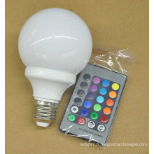 Chine Table RVB Ampoule LED 3W e27 62 * 110MM