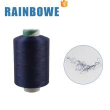 Vente chaude coloré conventionnel air filament filé polyester fil