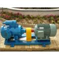 Système de transmission d'huile et pompe à vis à isolation thermique