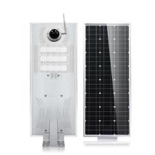 integrated Solar street light 30W40w50w60w80w100w120w150w180w With CCTV WIFI camera IP all in one solar light