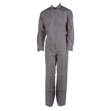 Basic cotton work suit