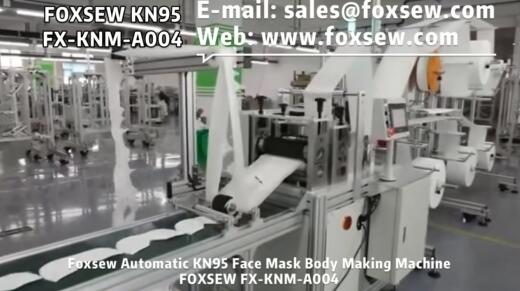 Automatic KN95 Mask Body Making Machine