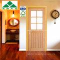 Plank / Cheshire Top Glass / Porte vitrée en chêne blanc