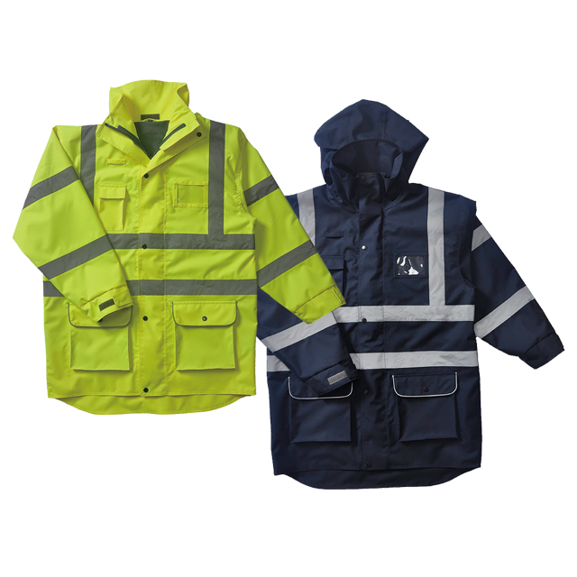 Long Style Construction Safety Vest
