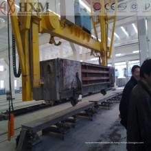Automatische AAC Block Maschine Autoklav Belüftete Beton Block Maschine AAC Pflanze