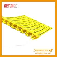 Marcadores de cable de red POM 1.5mm 2.5mm 4mm 6mm