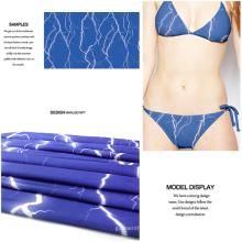 Poliéster Spandex tela impresa Digital para traje de baño y ropa de Jersey