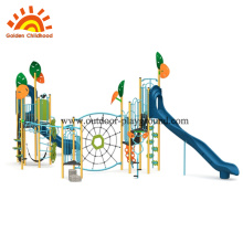 Commercial outdoor children playground modern series