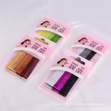 A caixa colorida Glittery da forma das crianças embalou os pinos de cabelo do metal (JE1002)
