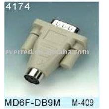 DB9 MALE ADAPTOR