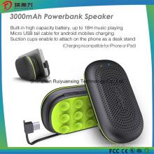 3 In1 Bluetooth 3.0 Speaker & Power Bank y soporte del teléfono