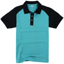 Wholesale high quality Blank Raglan Sleeves Polo shirt