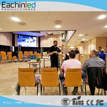 Indoor Chruch Full Color HD Großer LED-Videobildschirm