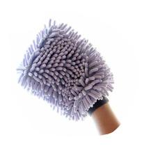 Luva especial da limpeza do chenille do microfiber de 26 * 20cm / luva da lavagem de carros do chenille do microfiber / carro do microfiber