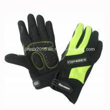 Invierno al aire libre a prueba de viento impermeable deportes calientes Full Fingers guante