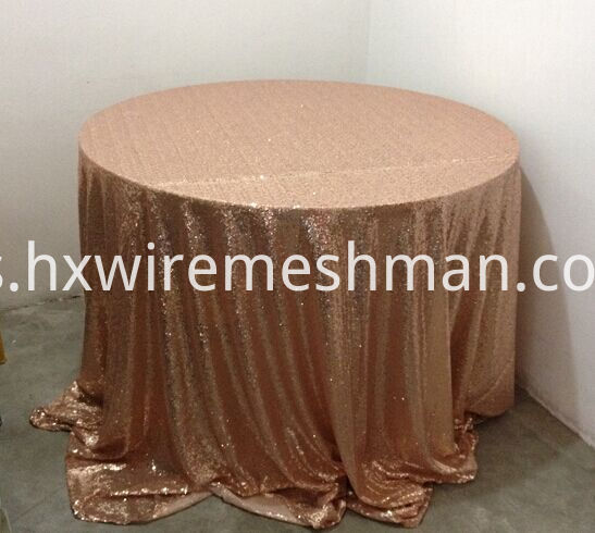 metal table cloth