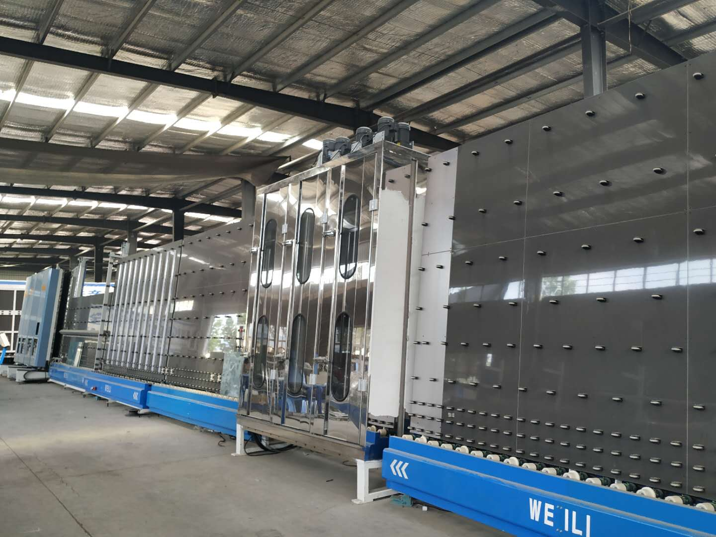IGU insulating glass production line
