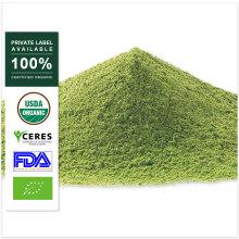 Pó de Matcha do chá verde por atacado da etiqueta própria do OEM