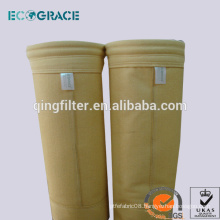 Nonwoven P84 dust filter bag filter housing