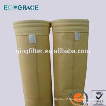 Nonwoven P84 dust filter bag filter housing
