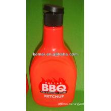 Пластиковые шампуня, косметическая бутылка с флип-крышкой