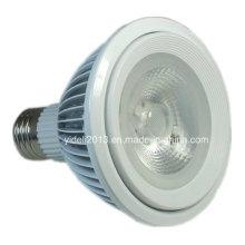 Mejor Precio 60degree 2700k COB LED Proyector PAR38 bombilla de la lámpara